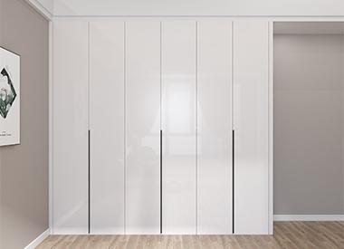 饰韵现代简约白色衣柜